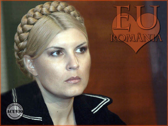 Funny photo Elena Udrea Romania