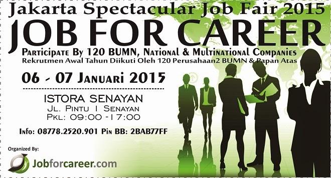"JAKARTA SPECTACULAR ""JOB FOR CAREER"" 2015"