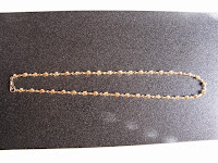 G016:中古 K18 デザインネックレス 41cm 6.2g