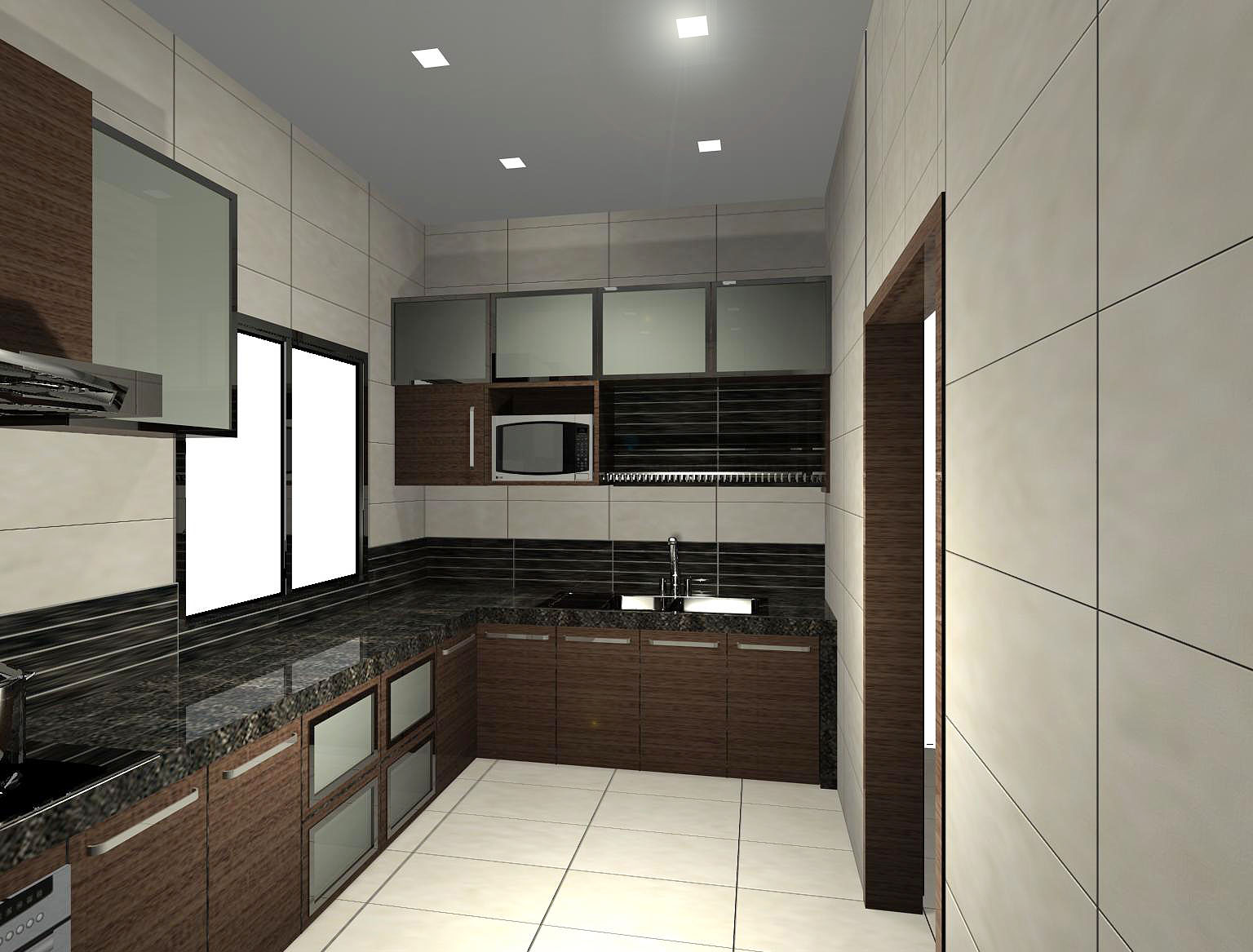 Mica Interior Design And Construction Kitchen Cabinet