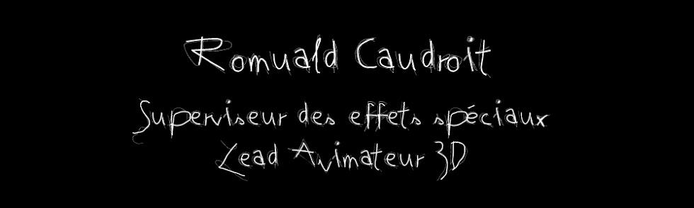 Romuald Caudroit  lead animateur 3D