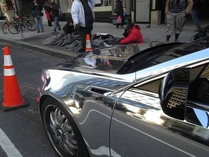 The Obama Car: Chromed Cadillac CTS