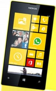 Harga dan Spesifikasi Nokia Lumia 520 Terbaru