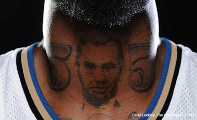 DESHAWN STEVENSON tattoo