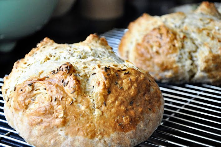 the parsley thief: Brown Butter Soda Bread