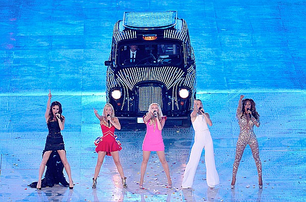 Spice Girls London Olympics CLosing Ceremony A Symphony Of British Music