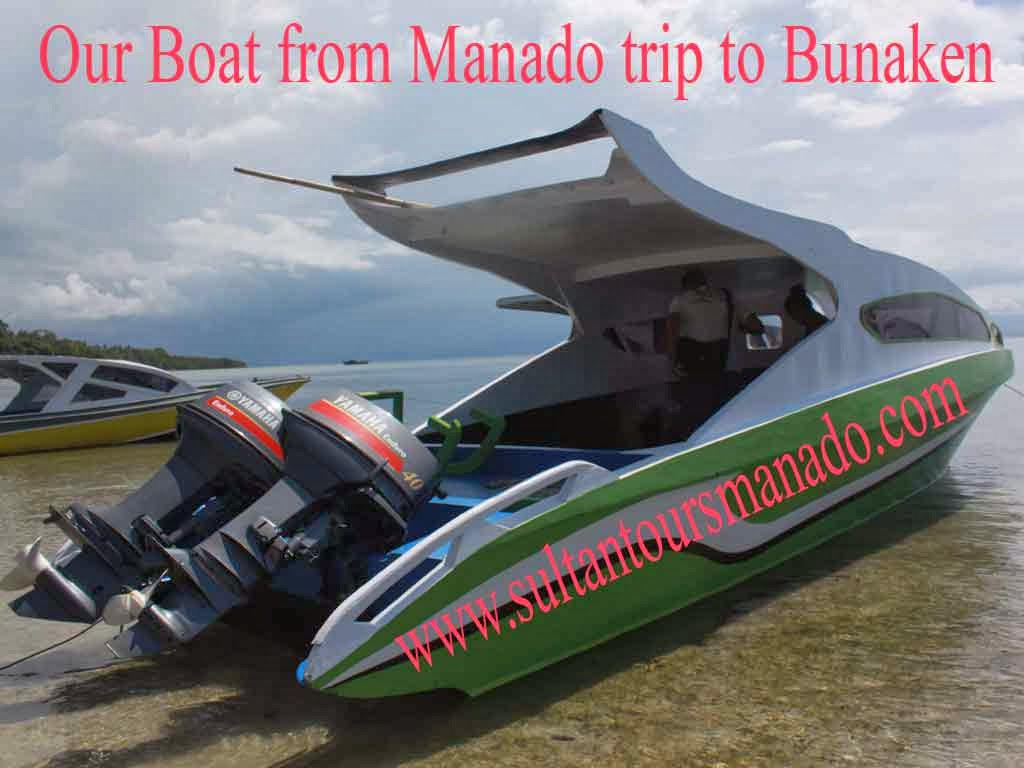 Speed Boat To Bunaken