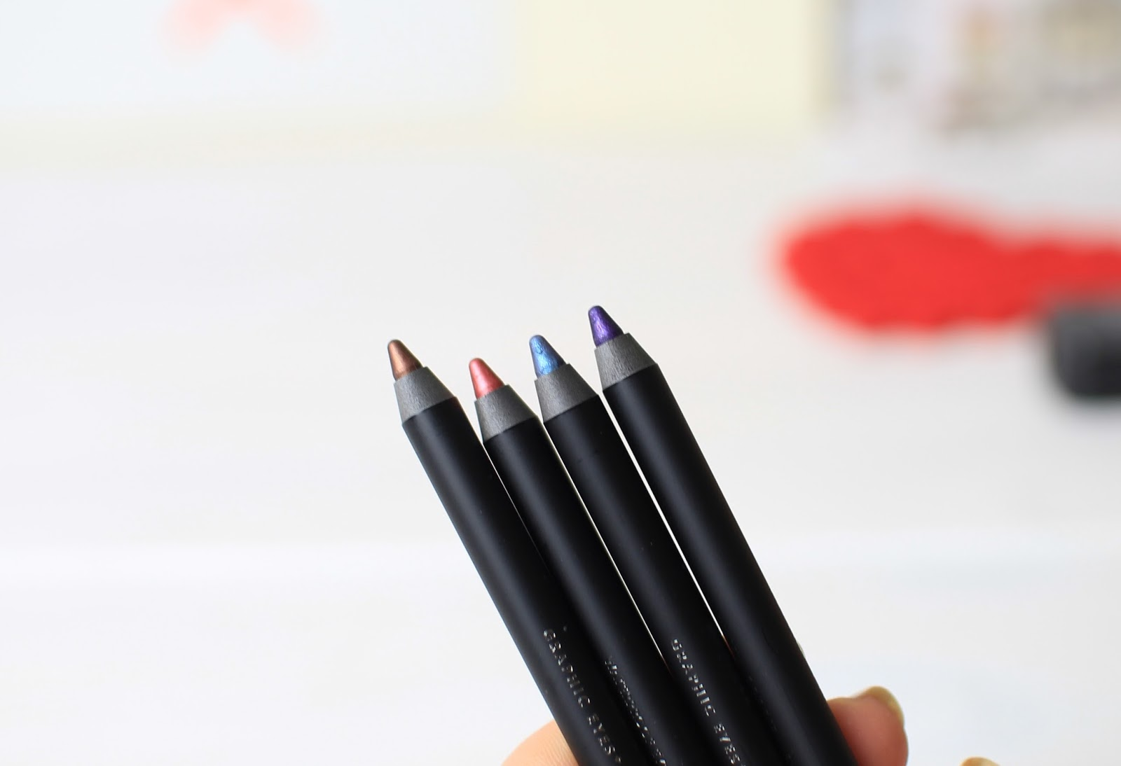 Zoeva Graphic Eyeliners n Glance, Opulence, Cool Factor and Regency