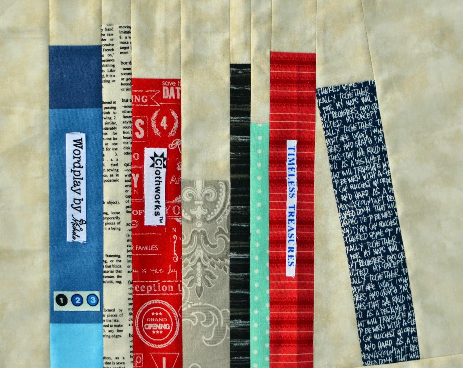 IslandLife Quilts: Library book block : quilt block library - Adamdwight.com