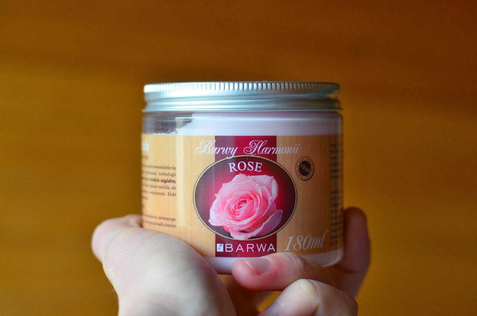 Barwa - różane masło do ciała oraz mydełko.