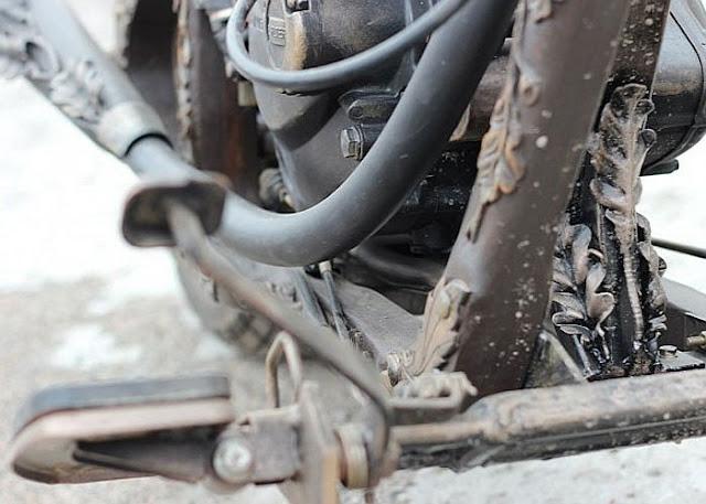Xe Moto gỗ - những tác phẩm nghệ thuật từ dân chơi