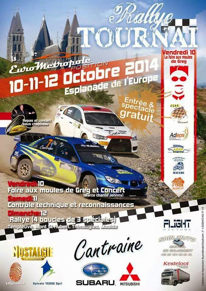 10-11-12 OCTOBRE TOURNAI