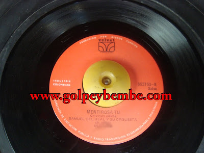45 Rpm Samuel Del Real - Side B