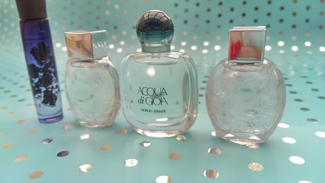 Georgio Armani luxury gift set close up
