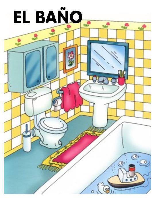 Dibujos para todo dibujos de partes de la casa for Elementos para el bano