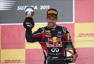 2011 F1 champion