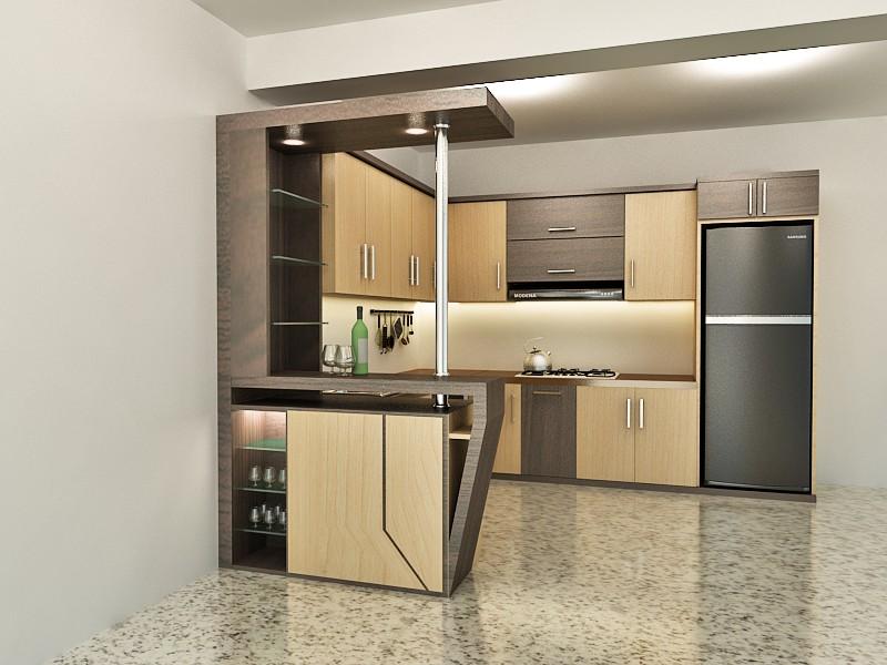 Desain kitchen set minimalis di malang kitchen set for Cara bikin kitchen set