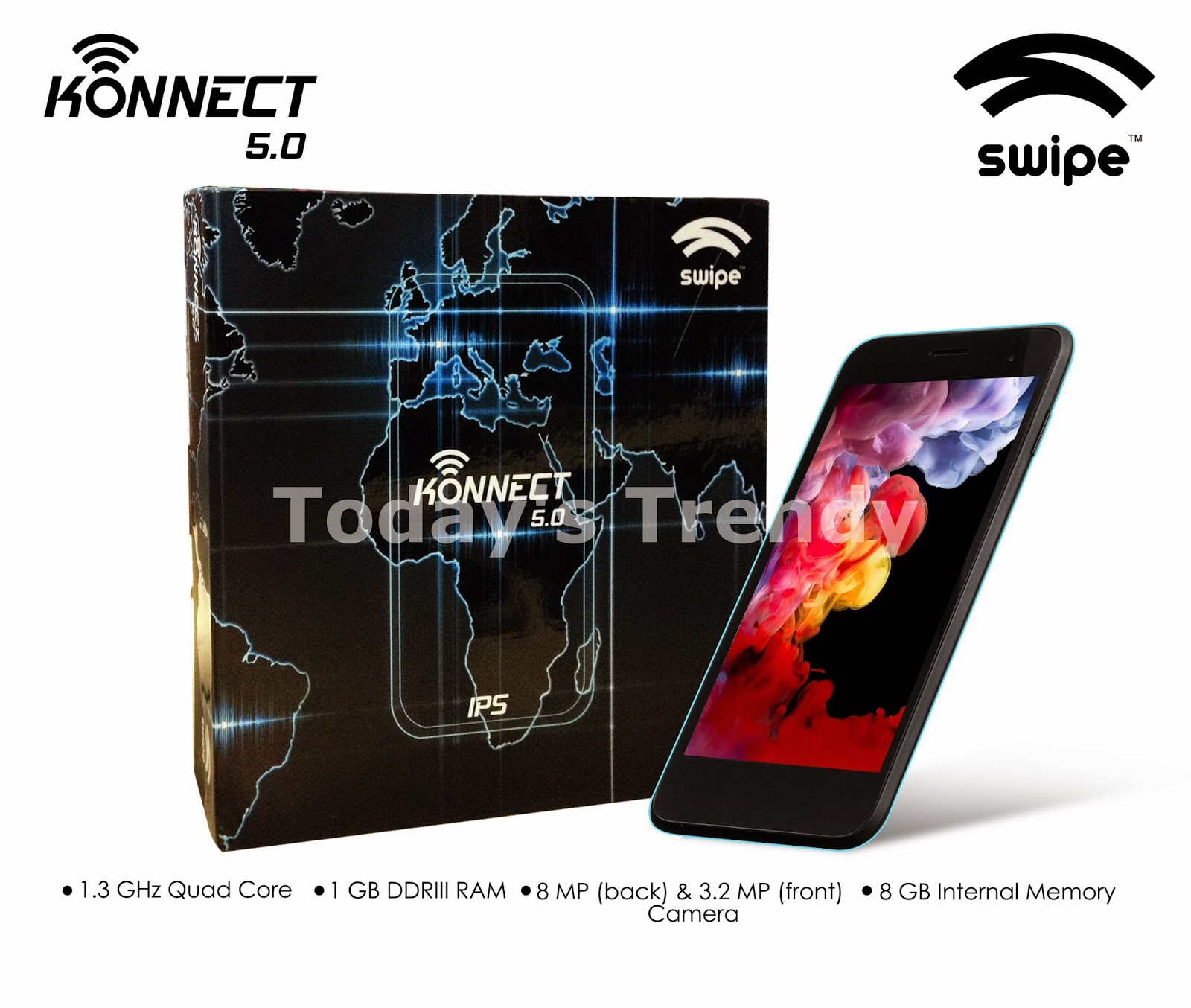 Swipe Konnect 5.0 with box