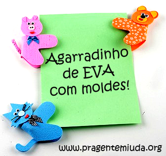 lembrancinhas para o dia das crianças com EVA