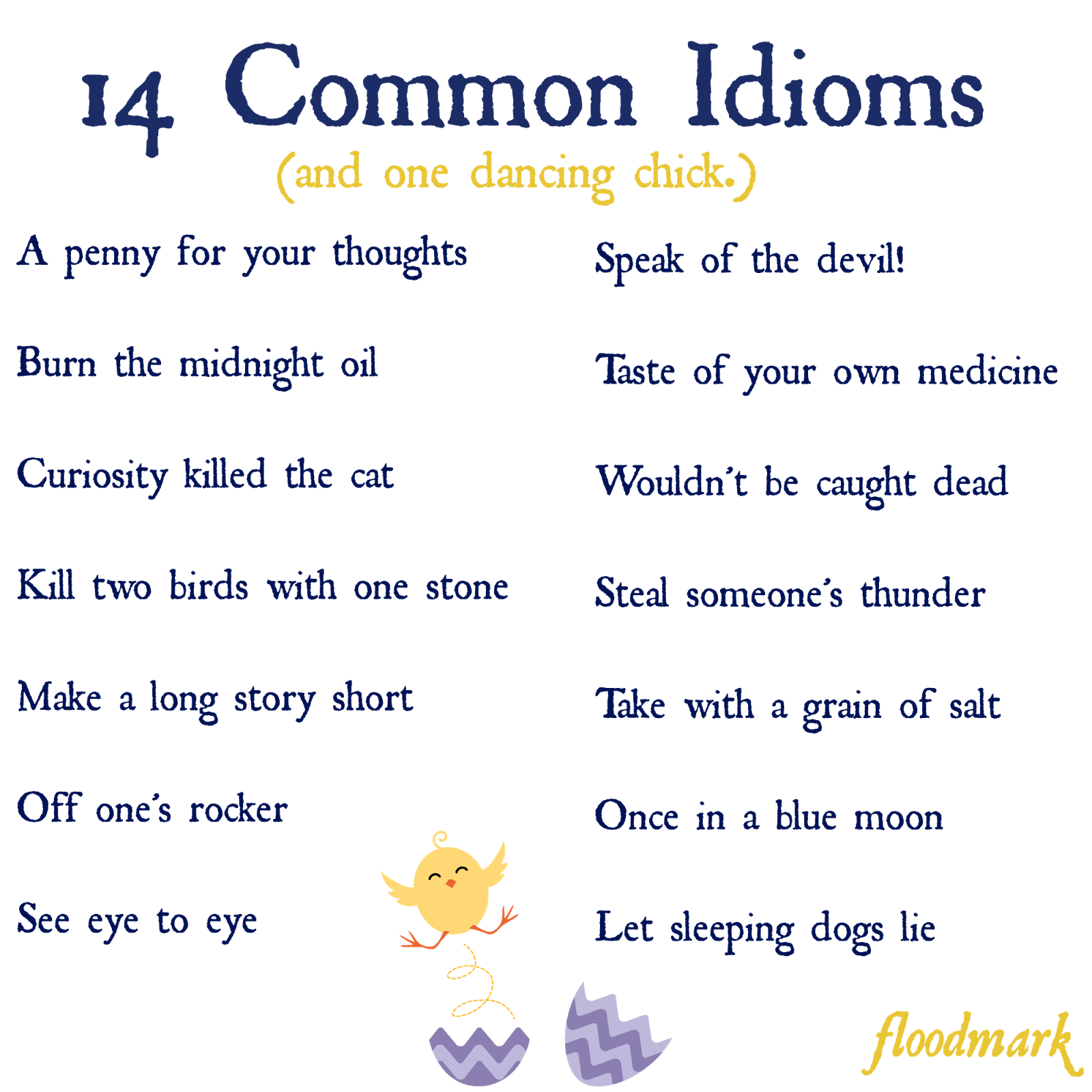 useful idioms Idioms, idiom, american idioms, explain idiom, define idiom, how do i use this idiom, what does this idiom mean, improve my english, improve my fluency, informal english, english.
