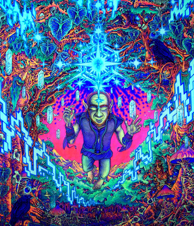 To Give You An Idea Of What Is Possible In The Realm UV Black Light Art Here I Present Some My All Time Favorite Backlight Posters