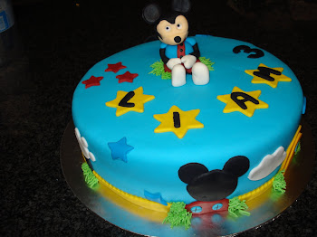 Liam&#39;s Mickey Mouse cake