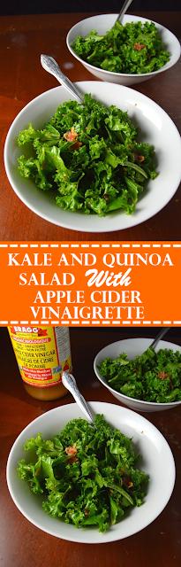 Kale and Bacon Salad with Apple Cider Vinaigrette