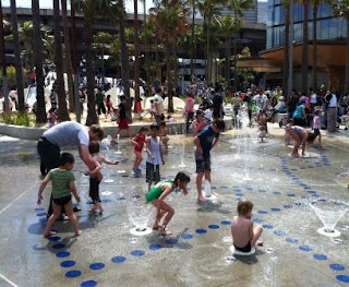 Darling Quarter - Water Play Area