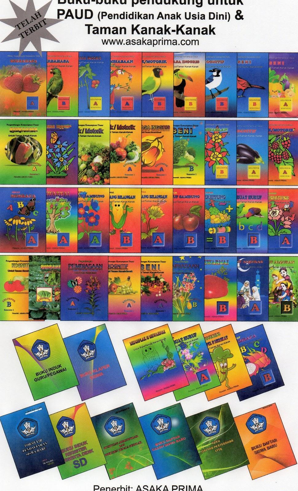 buku paud,buku tk,buku pg,penerbit asaka prima,daftar buku paud,majalah paud,majalah tk,majalah tk,buku administrasi sekolah,buku induk