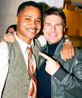 Cuba Gooding Jr and Tom Cruise