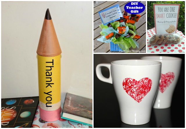 Teacher Gift Ideas for Teacher Appreciation Week and End of Year Gifts featured at The Educators' Spin On It