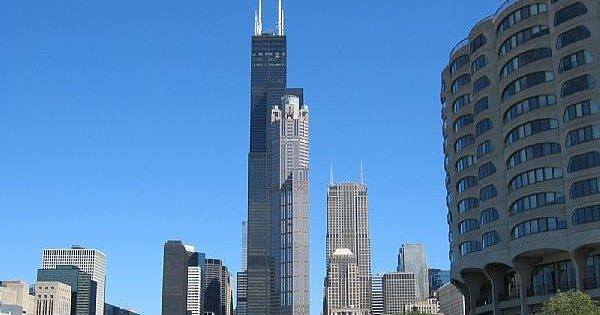 Best structures sears tower in chicago for 103 floor skyscraper the sears tower in chicago