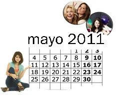 ×Calendario mayo 2011×