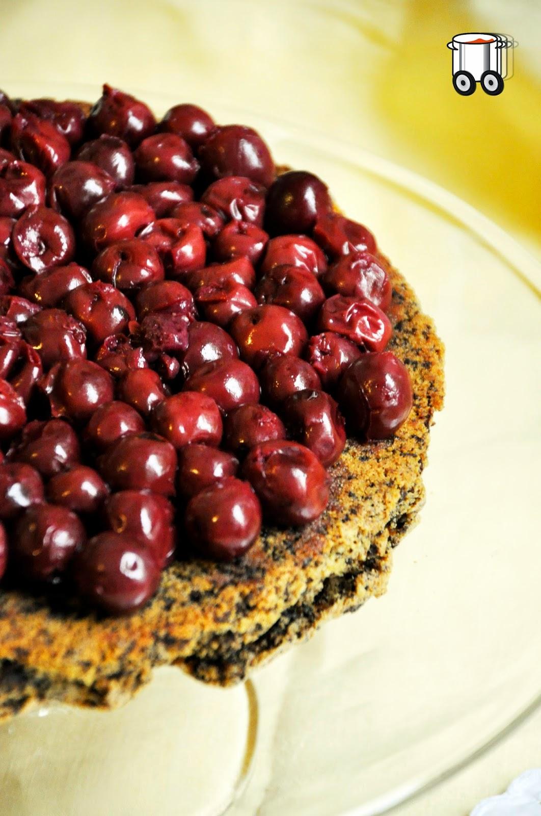 Szybko Tanio Smacznie - Ciasto czekoladowe z wiśniami (bezglutenowe)