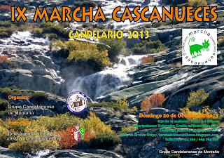 Cartel cascanueces de Candelario Salamanca 2013 IX Edición