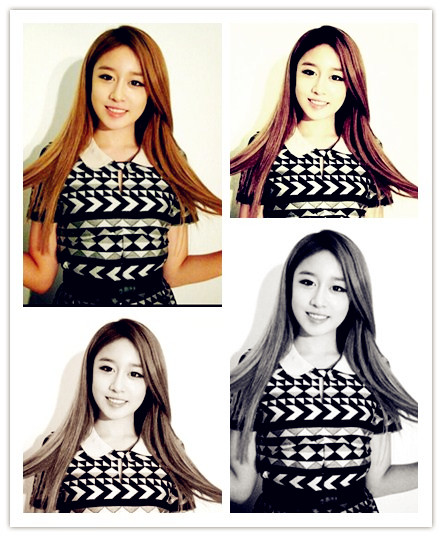 Park Jiyeon 2013 Picture Edit