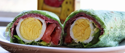 Egg Wrap Photo by Tori Beveridge AHWT