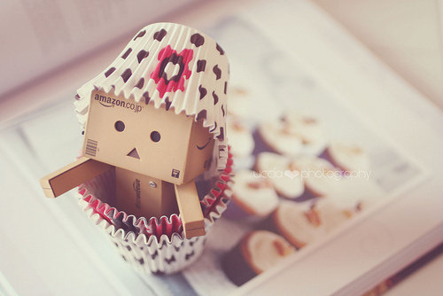 Danbo  Esa Adorable Cajita De Cart  N