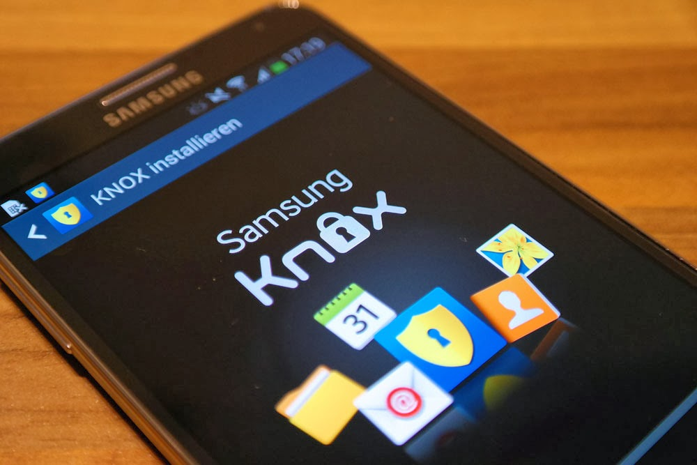 Samsung KNOX - An Encrypted Virtual Operating system for Android ...