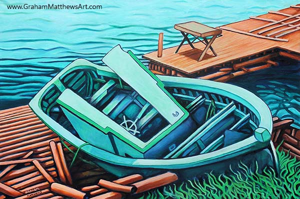 Season's End - Newfoundland Painting