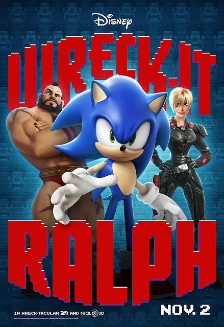 Zangief and Sonic at front
