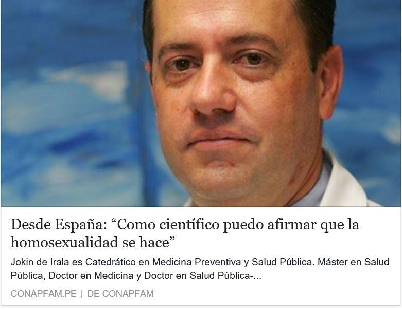 Nadie nace gay.