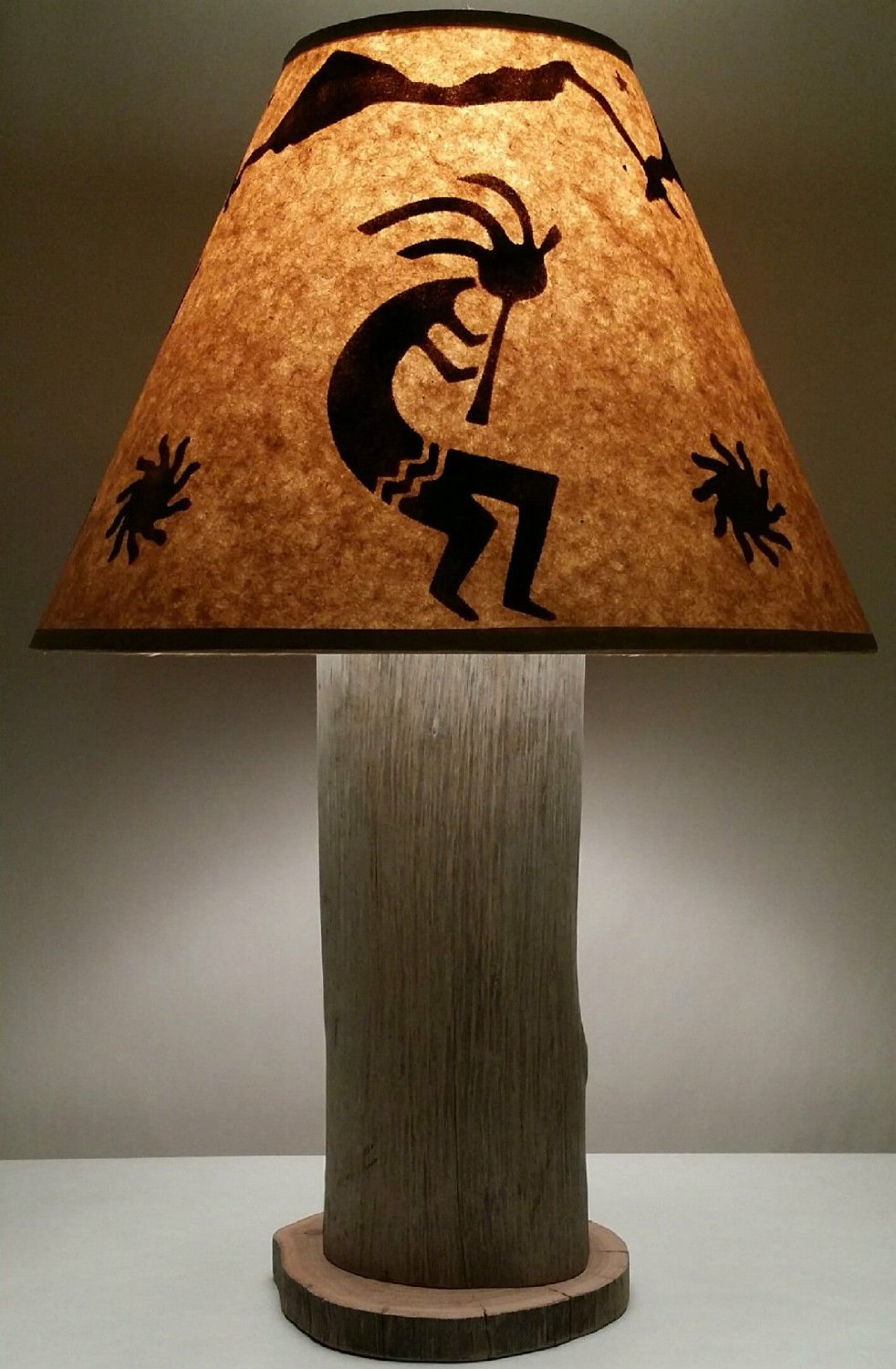 Navajo Kokopelli Native American Indian Southwestern Table Lamp - Total Fab: Southwestern Native American Lamps: Lighting From Earth