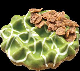 Waffnuts Green Tea Donut