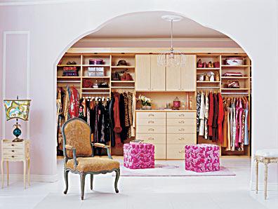 Closet that inspires me