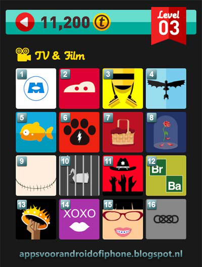 Icon Pop Quiz Level 3 TV & Films: cheats, hints, oplossingen en antwoorden