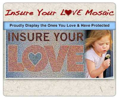 Insure Your Love Picture Mosaic