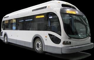 Foto Alat Transportasi Modern Bus