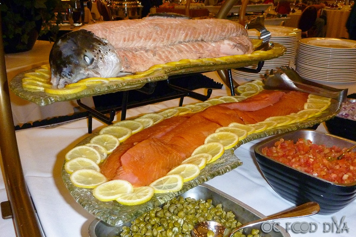 Enjoy Cruise Ship Dining At The Champagne Sunday Brunch