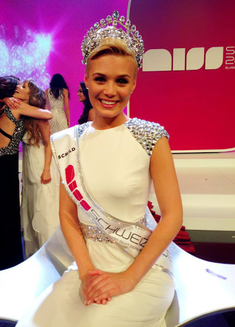 Miss Schweiz Switzerland 2013 winner Dominique Rinderknecht